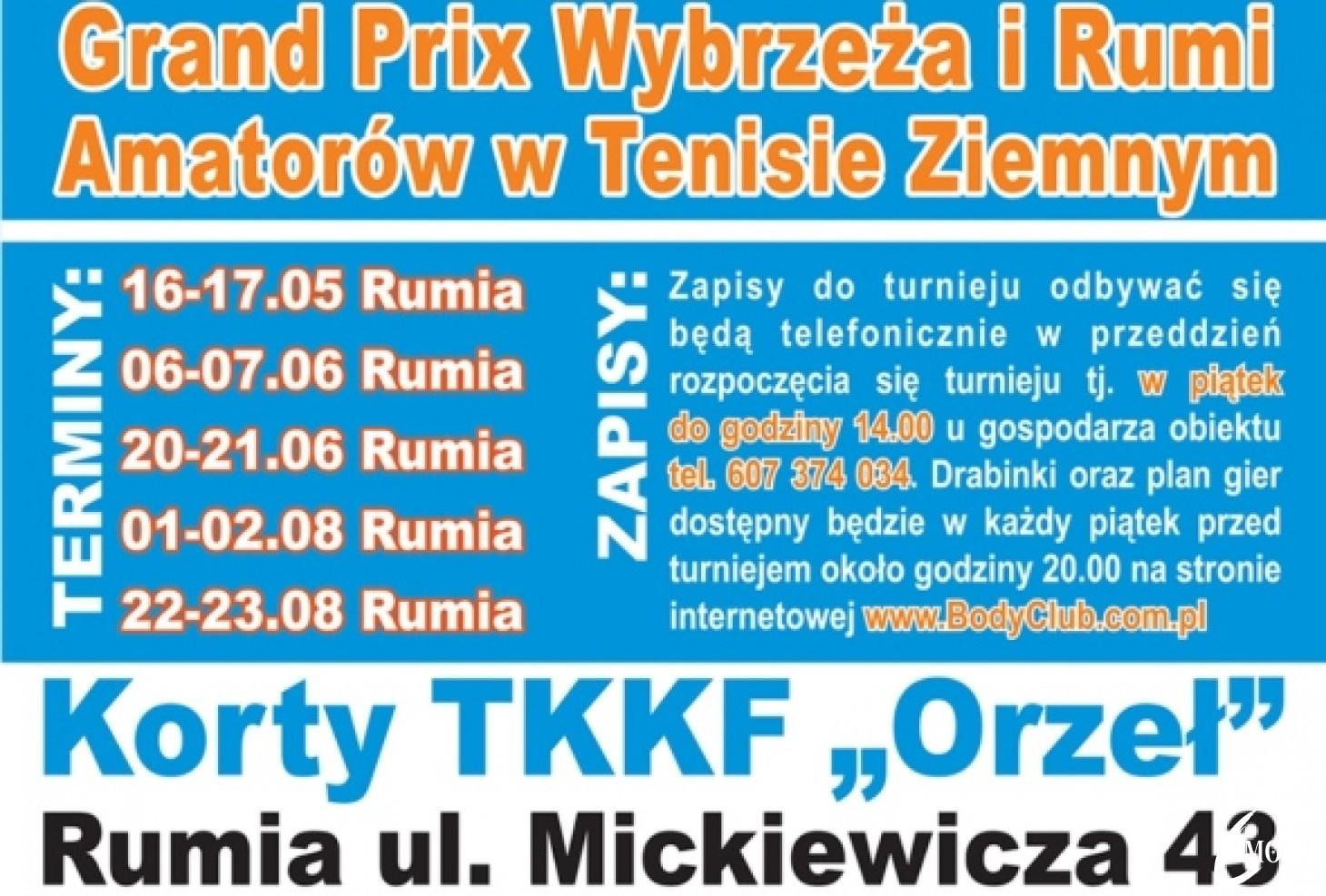 Grand Prix Wybrzeża i Rumi Amatorów w Tenisie Ziemnym