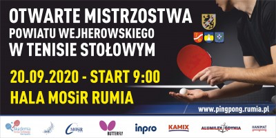 Otwarte Mistrzostwa Powiatu Wejherowskiego w Tenisie Stołowym